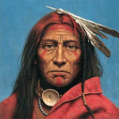 Beautiful Native American Portrait Paintings Kirby