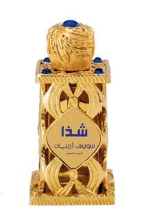 Shadha by Swiss Arabian is an Oriental fragrance for women and men. Top note is patchouli; middle notes are galbanum and hyacinth; base notes are musk, agar wood (oud) and sandalwood.
