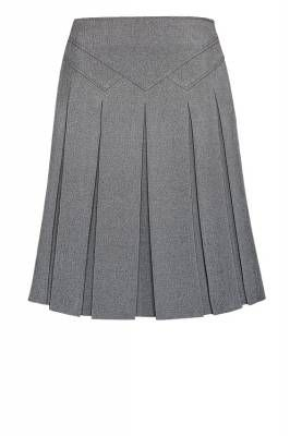 Tweed skirt.