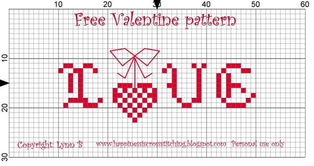 Happiness is Cross Stitching : Free valentine cross stitch patterns, Rosey finished, new stash and Tilda dolls!