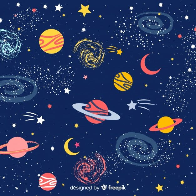 Download Lovely Hand Drawn Galaxy Background For Free How To Draw Hands Galaxy Background Hand Painted Rocks