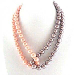 Collar de Perlas de Cristal