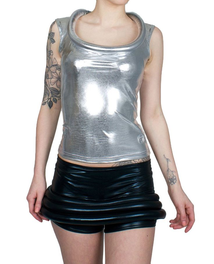 This classic saucy top now comes in sexy wet look! #xxxorbitvest