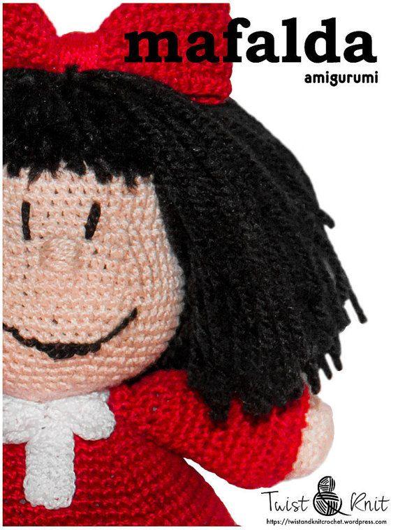 Amigurumi Mafalda