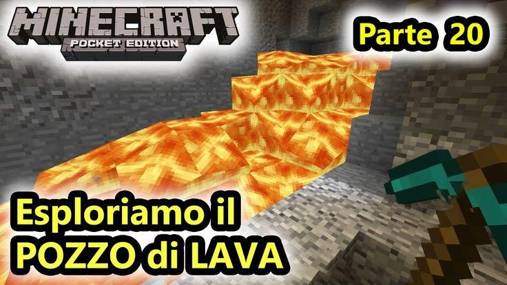Minecraft PE - Esploriamo il pozzo di lava! - Android - (Salvo Pimpo's)