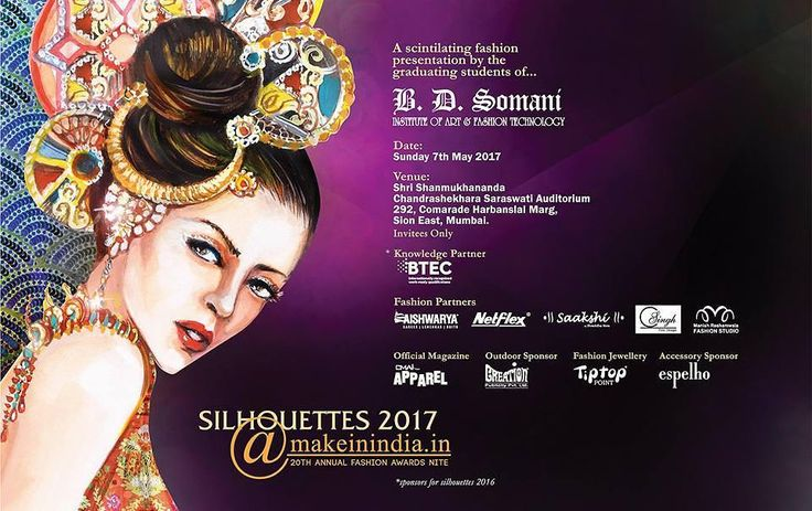 Thanks to Raju Mam & Utsav Dholakia will be covering A scintillating fashion presentation by the graduating students of B. D. Somani Institute of Art and Fashion Technology for their 20th Annual Fashion Awards  Nite.  #BDSomaniFashionForever #MakeininIndia #Silhouettes2017 #fashion #show  #annual #event #show #director #utsav #dholakia @makeinindia.in