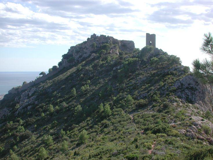 Vista del Castell de Montornés