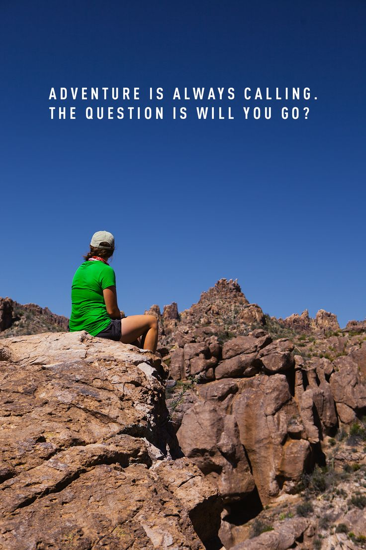 A aventura está chamando. A questão é, você vai responder?