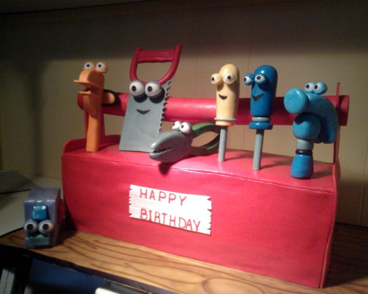 17 Best Images About Tools Birthday On Pinterest Kids Tool Bench Birthday Cakes And