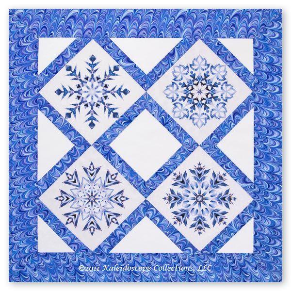 http://kaleidoscopecollections.com/blog/2011/11/snowflakes-quilt/
