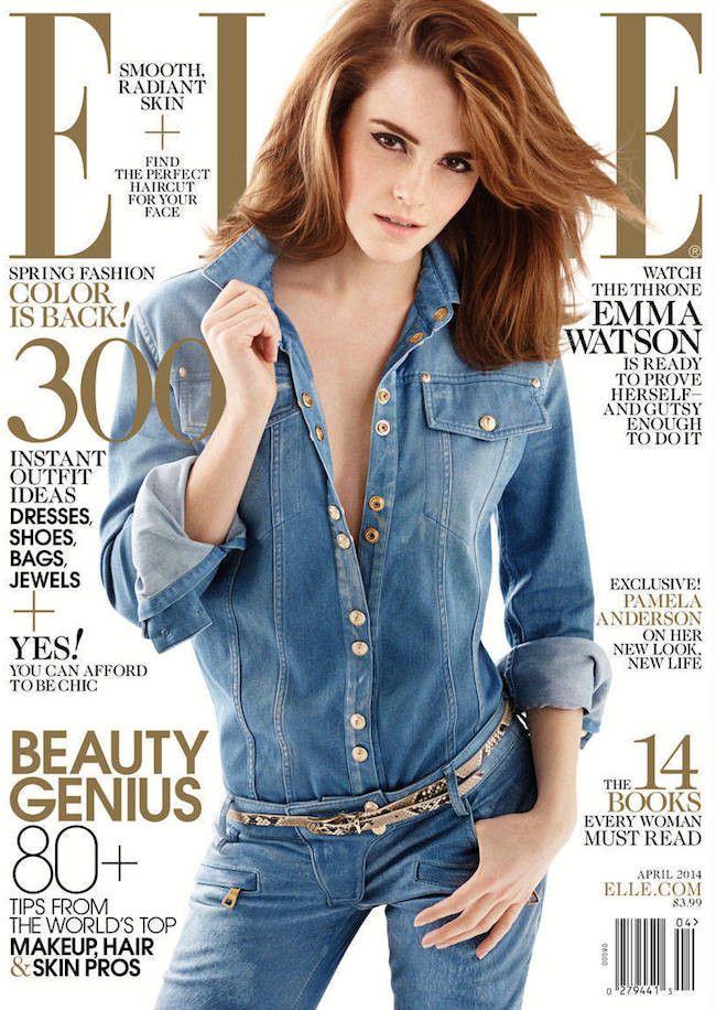Emma Watson Elle portada