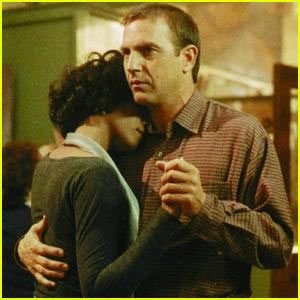 """The Bodyguard""...Whitney Houston and Kevin Costner. Great movie!"