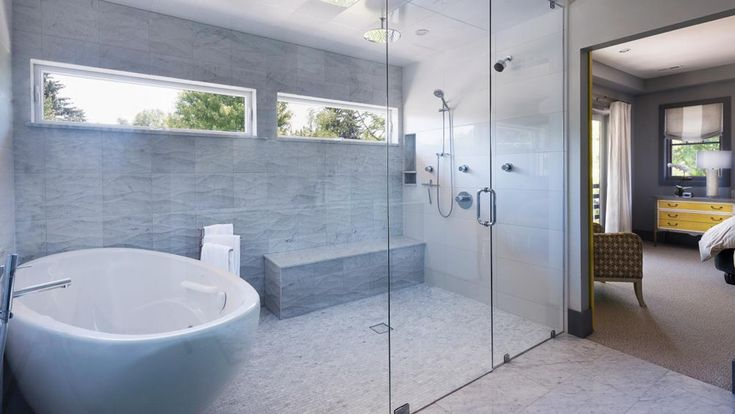 image result for small wet room with built in bath no on bathroom renovation ideas nz id=45330