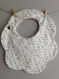 Baby Craft Ideas To Sell {There's NO Directions For This Bib. It's Just a Suggestion I Guess K.H.}