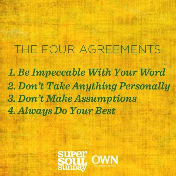 Four agreement