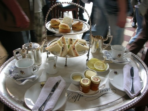 Tea for two at Caffé Florian in Venezia...