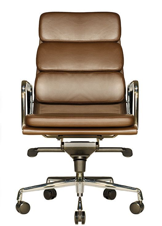 clyde highback leather office chair