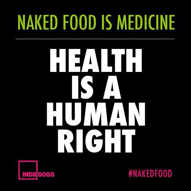 http://thndr.it/1KUqxIp  #SustainableSociety  Our #First #Huge #Crowfunding #Campaign #Informing #People To Use #Food As #Medicine. #NakedFood #NakedFoodMagazine