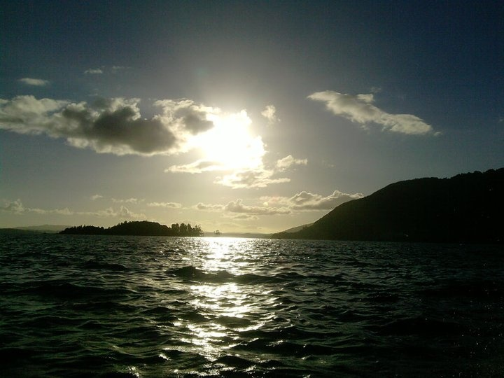 Esconder del Sol, Coñaripe Sur de Chile