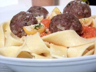 Boulettes de viande épicées à l'italienne