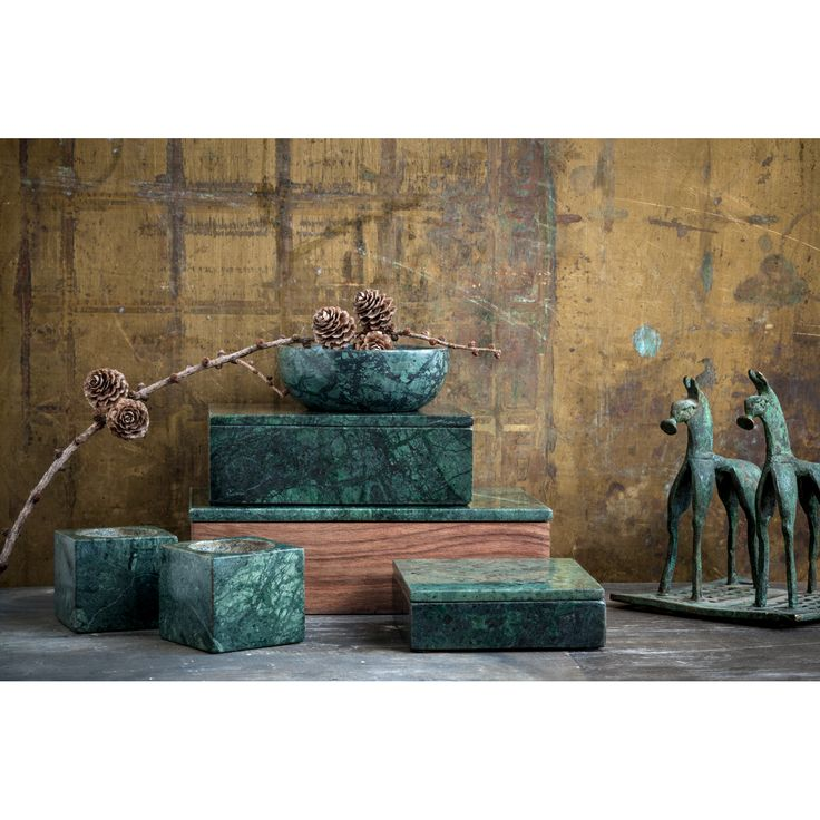 Marmor bowl, greeen marble – Nordstjerne – #interior #design