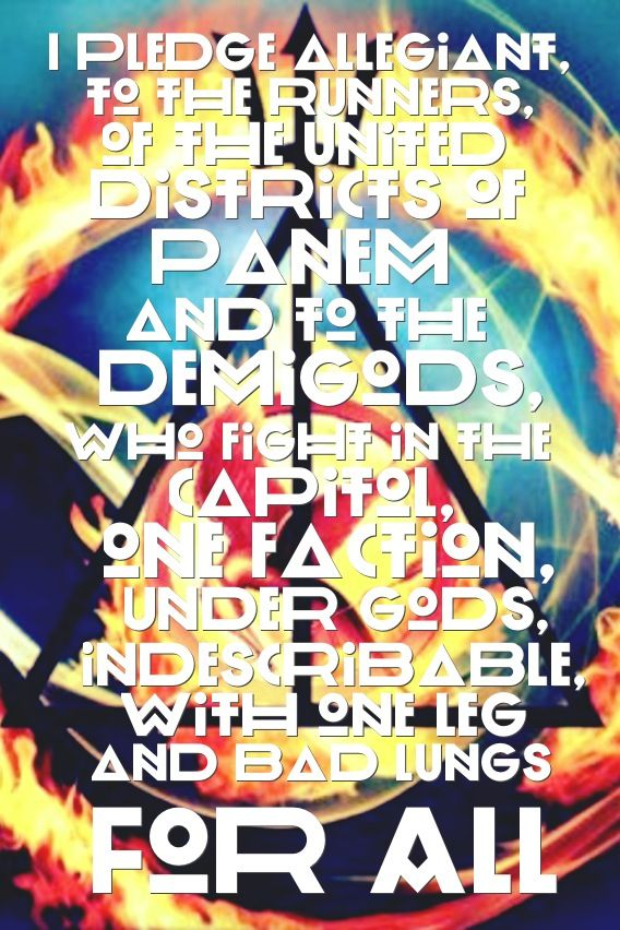 Fandom Pledge- no Harry Potter or The Mortal Instruments... Or Doctor Who or sherlock...