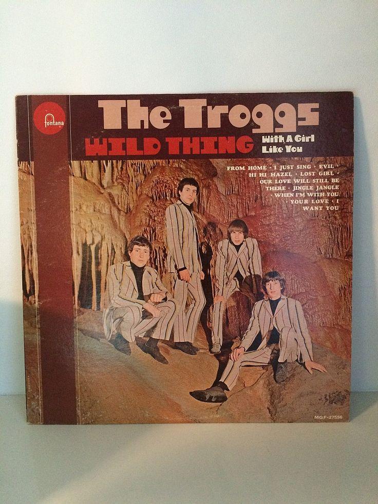 A1 The Troggs Wild Thing LP Fontana Rare Vinyl Record MGF 27556 Soaring Hawk Vintage England British Invasion Rock vg 1st Pressing 1960s