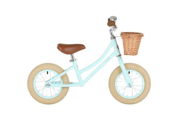 bobbin gingersnap balance bike mint green