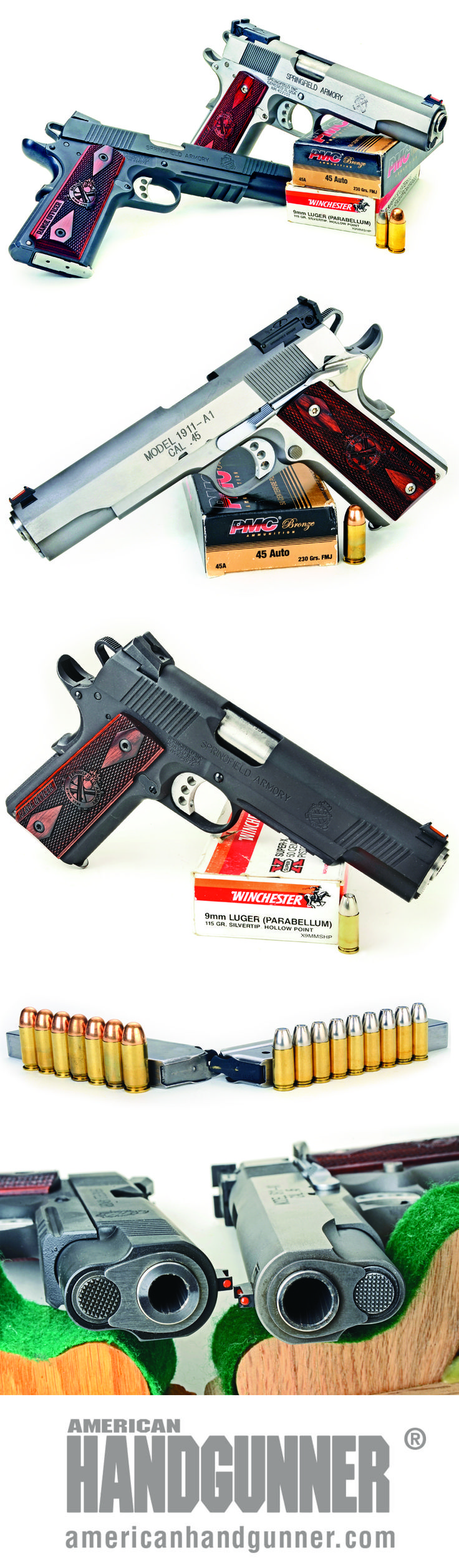 "Springfield Armory's Range Officers | Do-Everything Guns In .45 ACP & 9mm | By Mike Venturino | The Springfield Armory Range Officer .45 ACP with fully adjustable rear sight would make a dandy competition pistol. The Springfield Armory Range Officer ""Operator"" 9mm is a ""carry"" or duty-type pistol. Both are quality, heavy-duty pistols. They may be more weight than many people want to carry day-in and day-out, but they are built for lots of shooting. 