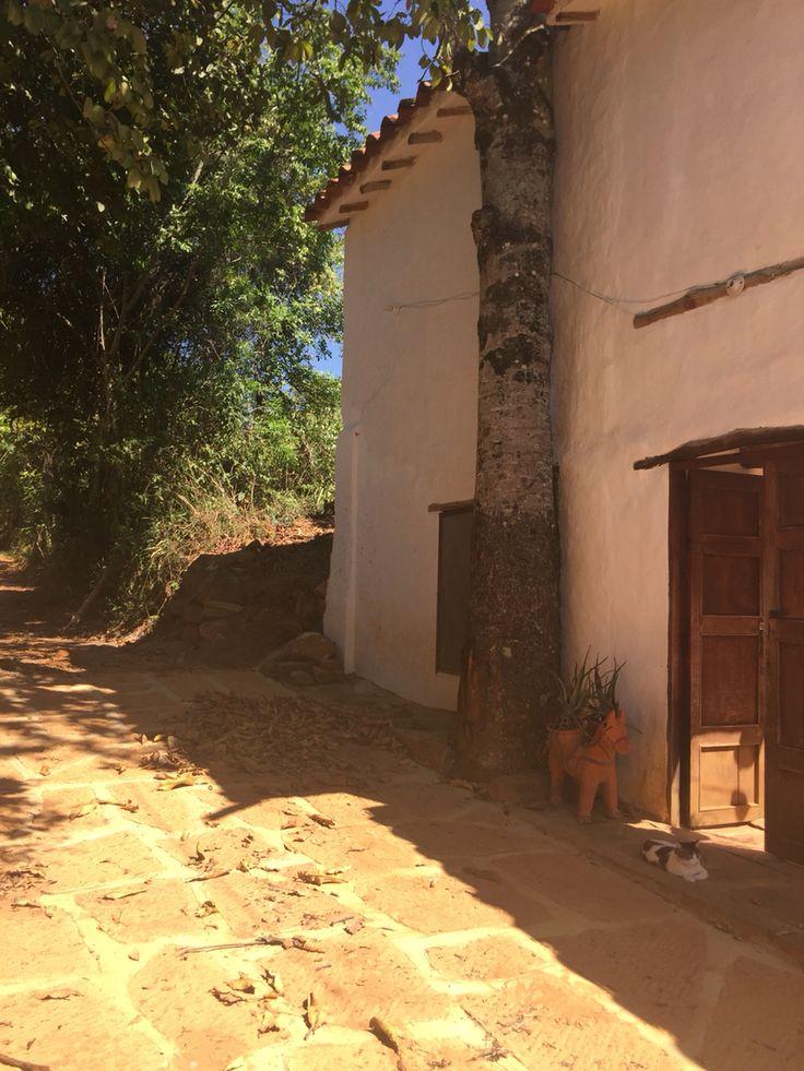 Calle en Barichara