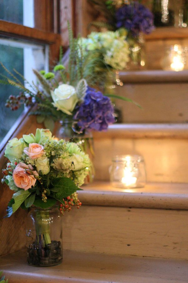 163 best wedding staircases decor images on pinterest casamento green wedding by julie mikos staircase ideaswedding staircase decorationwedding junglespirit Gallery