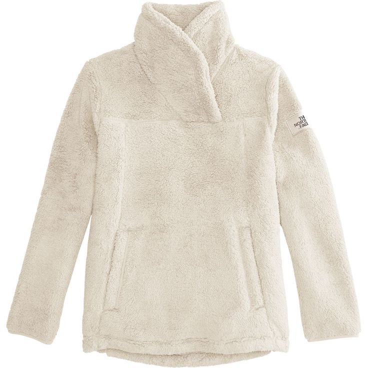 The North Face - Campshire Fleece Pullover - Girls' - Vintage White