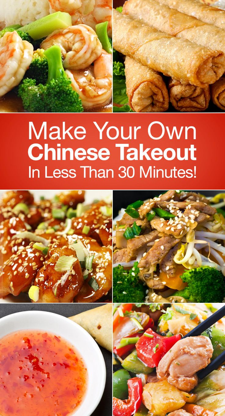 Make Your Own Chinese Takeout In Less Than 30 Minutes  25 Delicious  Recipes To Try