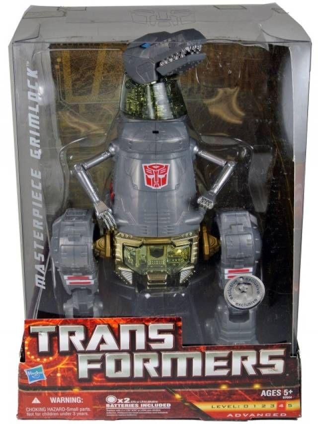 Hasbro Transformers Masterpiece Masterpiece Grimlock Toys R Us Exclusive Action