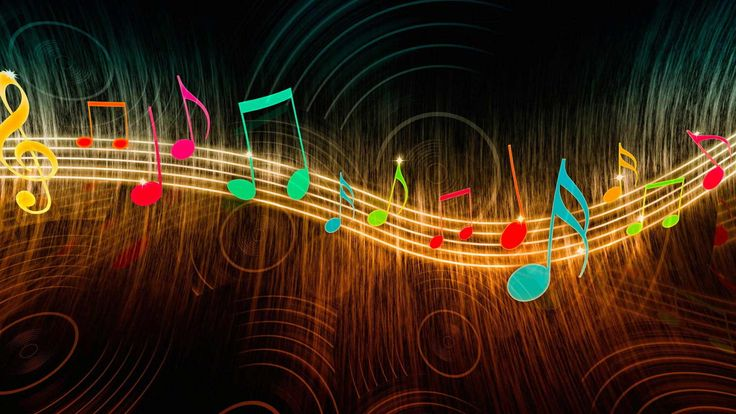 Colorful Music Notes Wallpapers HD Resolution Music Wallpaper