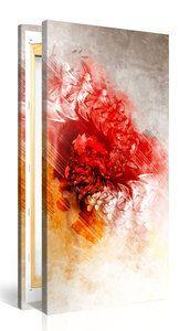 """Schilderij """"Abstractie Van De Kleur"""" (100x50cm) - Schilderijenspeciaalzaak.nl - De digitale print specialist van Nederland!"""