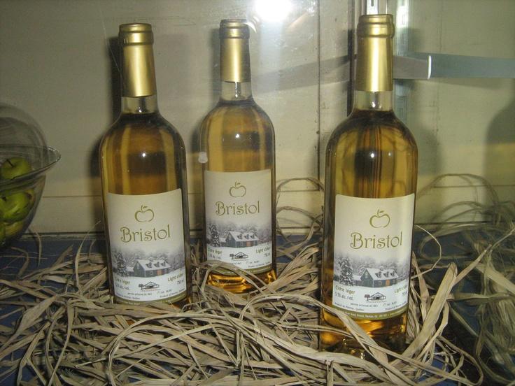 'Bristol' light cider, 5.5% alc. vol.  Dry, crisp and refreshing.