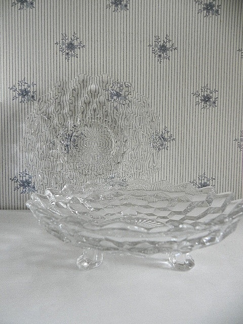American Fostoria Crystal Candy Dish and by SongSparrowTreasures, $6.00
