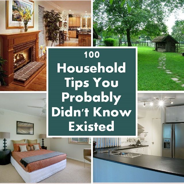 100 Household Tips You Probably Didn't Know Existed