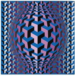 144 best images about VASARELY Op Art on Pinterest | 80th birthday ...