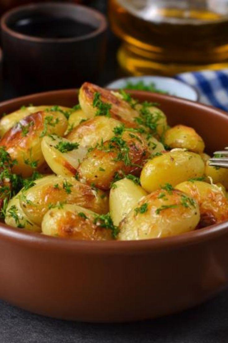 Gebackene Kartoffeln auf Griechisch