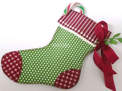 Stampin' Up! Christmas Stocking Die  by Michelle Le Breton