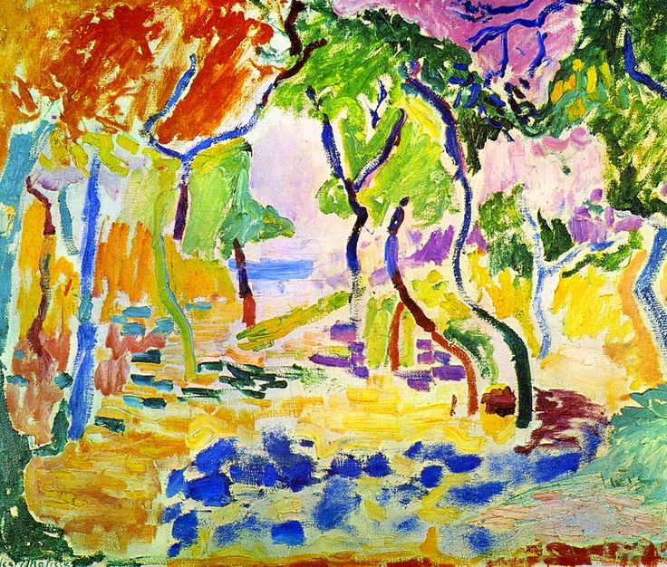The Joy of Life (study) Henri Matisse - 1905