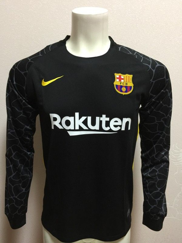 Barcelona goalkeeper shirt 2017-18