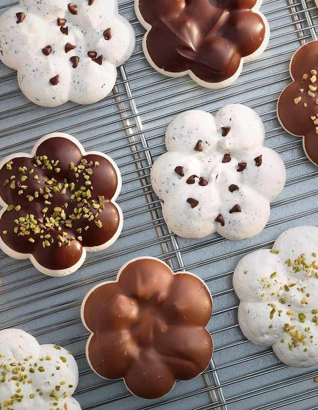Gâteau / chocolat / Vous avez dit mookies ? Moitié Meringue, moitié cookie Plus