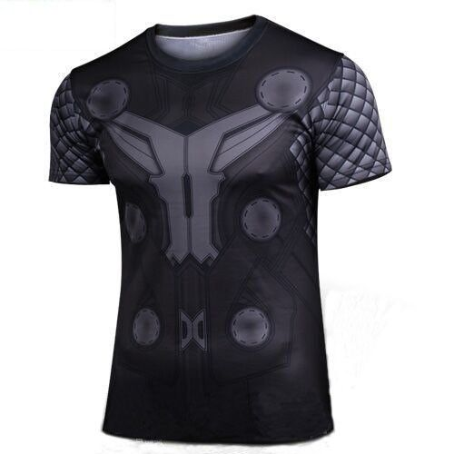 Batman Gym T-Shirt Men Fitness T Shirts - free shipping worldwide