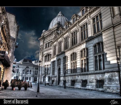 Street of Bucuresti