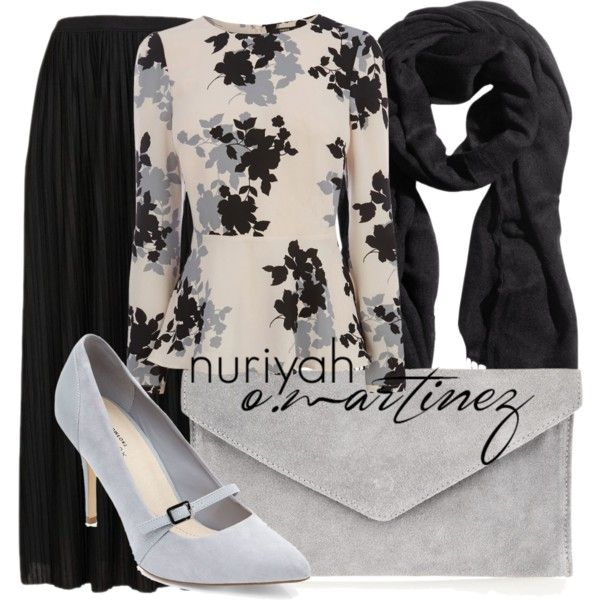 Hashtag Hijab Outfit #526 by hashtaghijab on Polyvore featuring Oasis, Topshop, Atterley Road, H&M and hijab