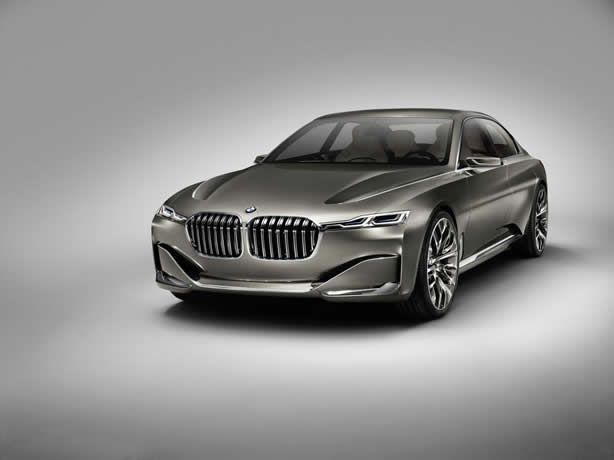 BMW Vision Future Luxury concept fully revealed