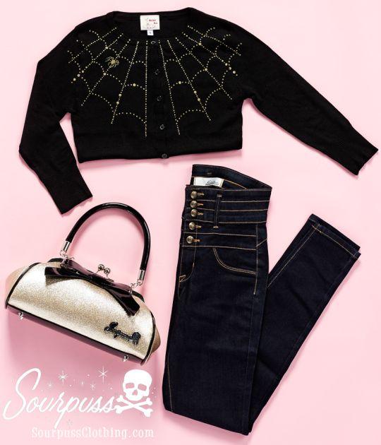 Sourpuss Clothing #ootd #sourpuss #sourpussclothing #pinupstyle #rockabillystyle #psychobilly